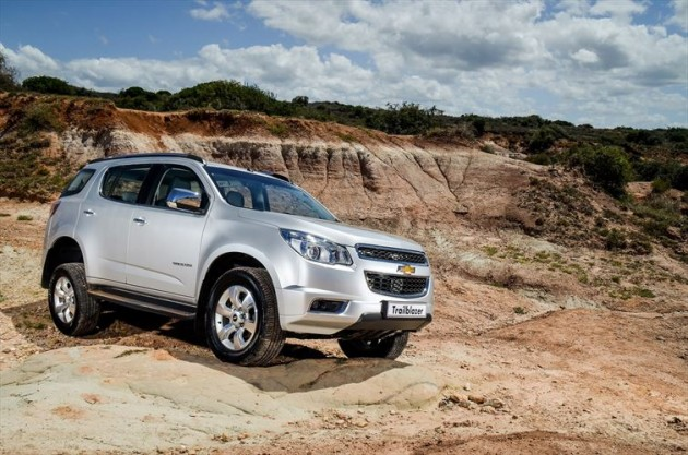 The Chevy Trailblazer is now the #1 SUV in Zimbabwe