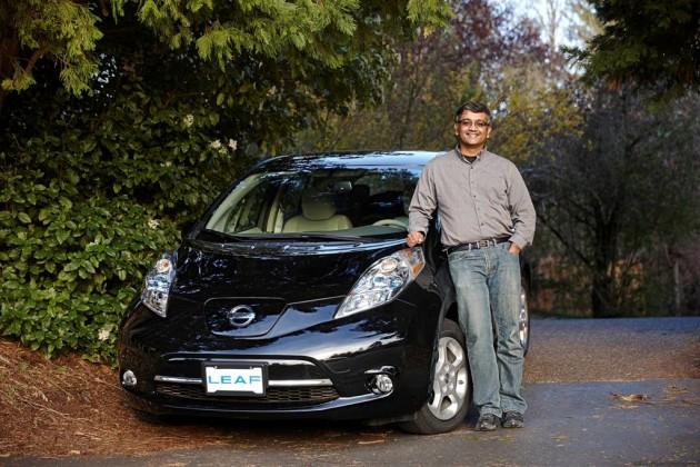 75,000th Nissan LEAF