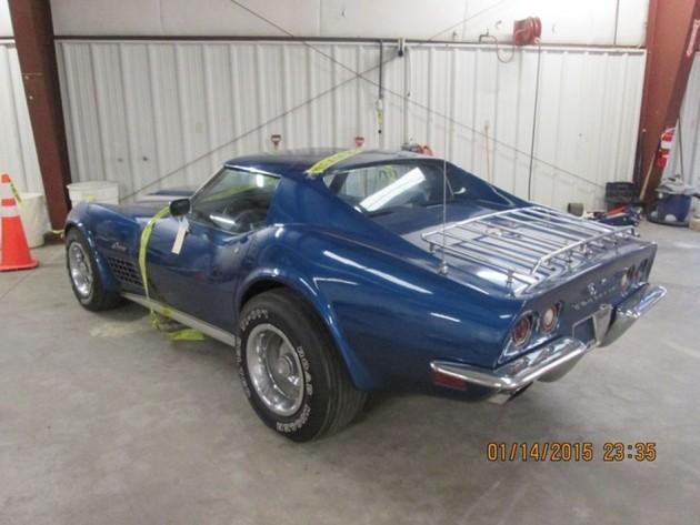 Terry Dietrich's stolen 1972 Corvette Stingray