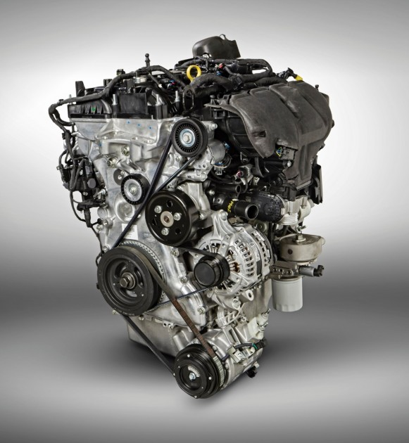 2.3-liter EcoBoost engine