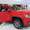 2015 Chevy Colorado Z71 Trail Boss Edition at Cleveland Auto Show front exterior red