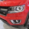 2015 Chevy Colorado Z71 Trail Boss Edition at Cleveland Auto Show front headlight