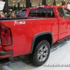 2015 Chevy Colorado Z71 Trail Boss Edition at Cleveland Auto Show rear wheel view