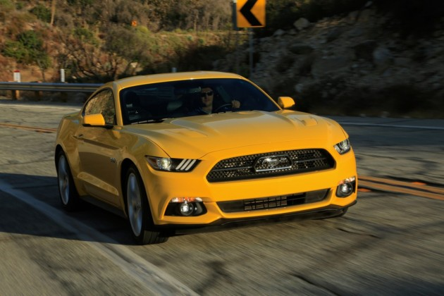 2015 Ford Mustang GT in Triple Yellow
