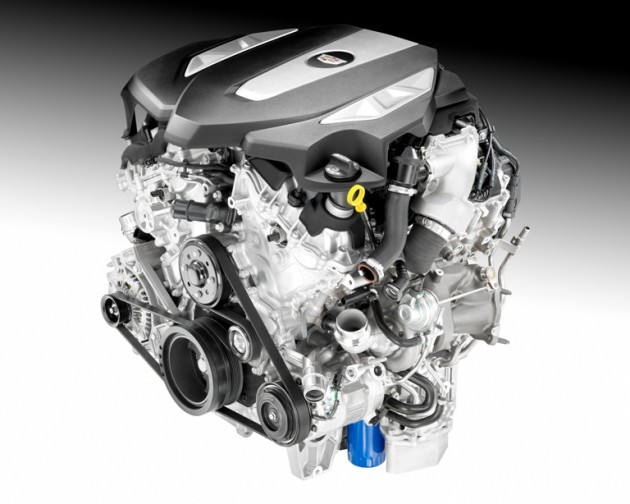 3.0L Twin Turbo for the 2016 Cadillac CT6