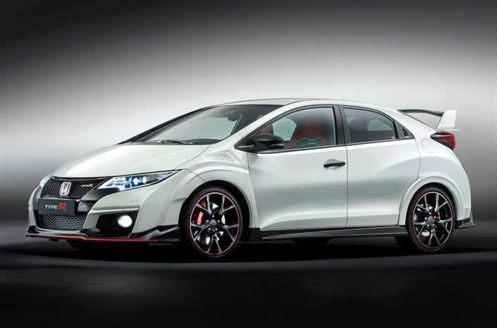 2016 Honda Civic Type R debuts at 2015 Geneva Motor Show