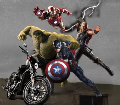 Avengers 2 Age of Ultron Harley-Davidson contest