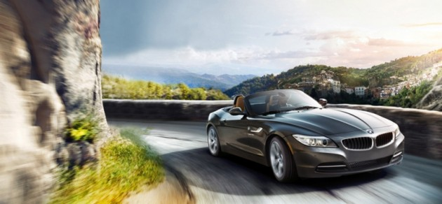 BMW z4 roadster hardtop coupe front