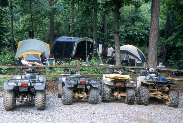 Best Car Camping In Georgia