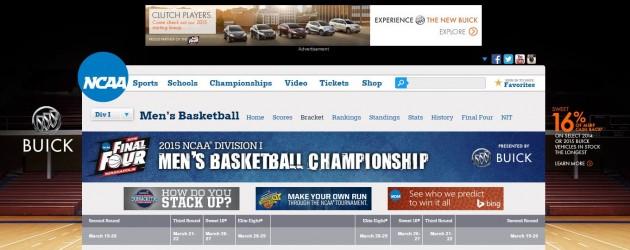 Buick Branding NCAA
