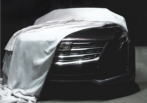 Cadillac CT6 teaser photo