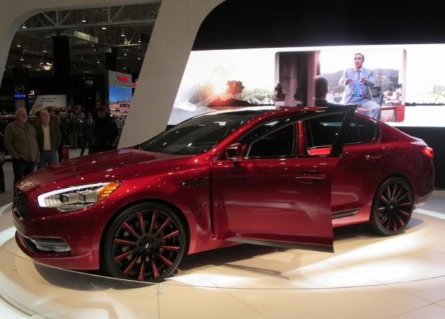 2015 Cleveland Auto Show LeBron James Custom K900