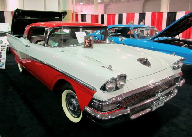 2015 Cleveland Auto Show 1959 Ford hardtop convertible