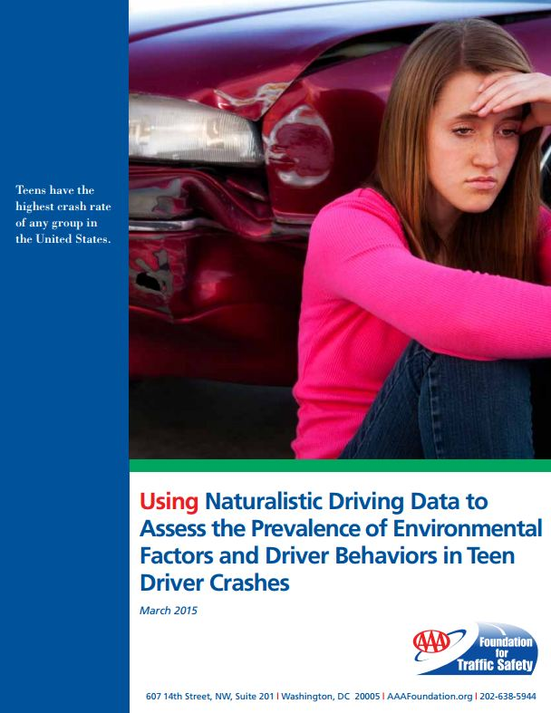 Using Naturalistic Driving Data to Assess the Prevalence of Environmental Factors and Driver Behaviors in Teen Driver Crashes
