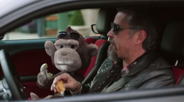 Richard Rawlings and a puppet monkey star in the new Dodge Law ads