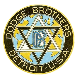 Dodge logo badge star of David