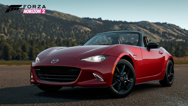 Download the 2016 Mazda MX-5 Miata on Forza Horizon 2 for free