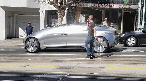 San Francisco Mercedes >> Photos Mercedes F015 Self Driving Car Stretches Its Legs In San