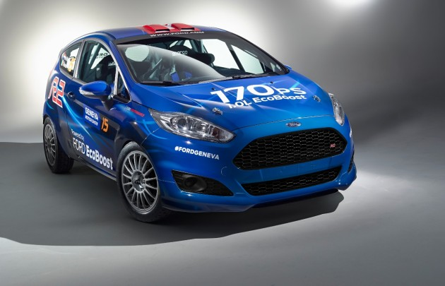 all-new Fiesta R2 Rally Car
