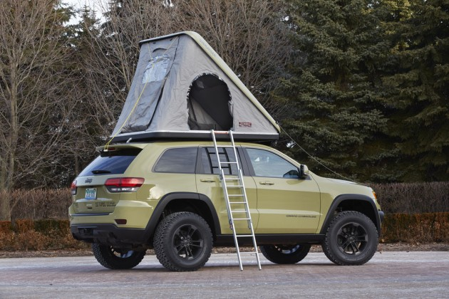 2015 Easter Jeep Safari Concepts | Jeep Grand Cherokee Overlander