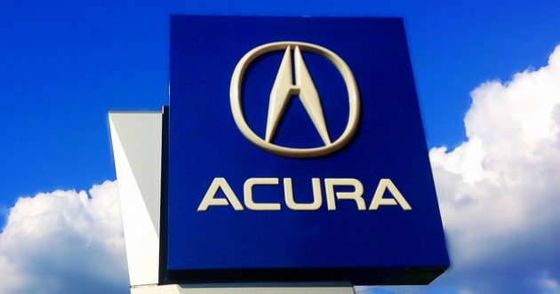 History of the Acura logo via flickr CC