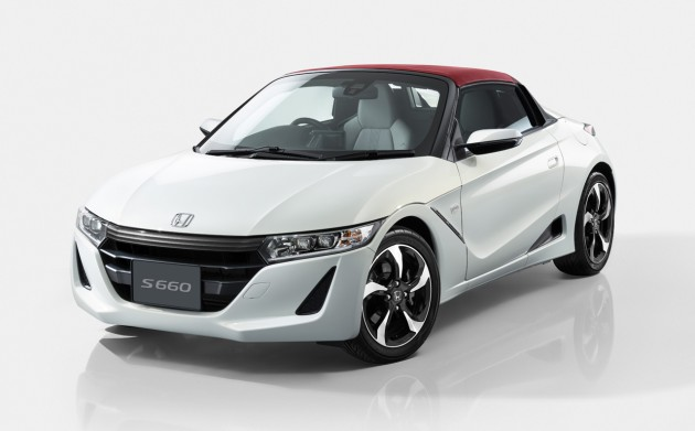 The newly launched Honda S660 convertible