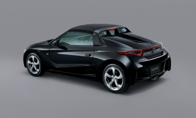 Honda S660 Black Ropriately Enough This Baby Roadster
