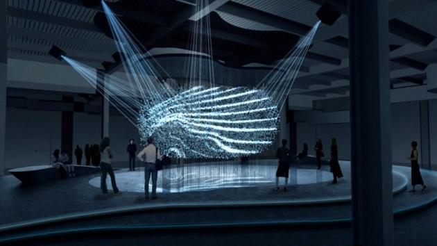 Hyundai Fluidic Sculpture design language Milan art 2013