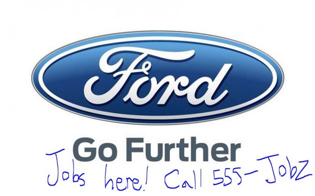 Ford Jobs Facebook Post