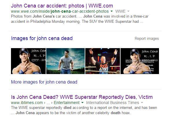 John Cena is not Dead