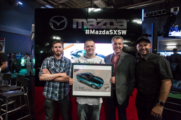 Mazda Livery Design Contest Winner Announced Jeff Reachard