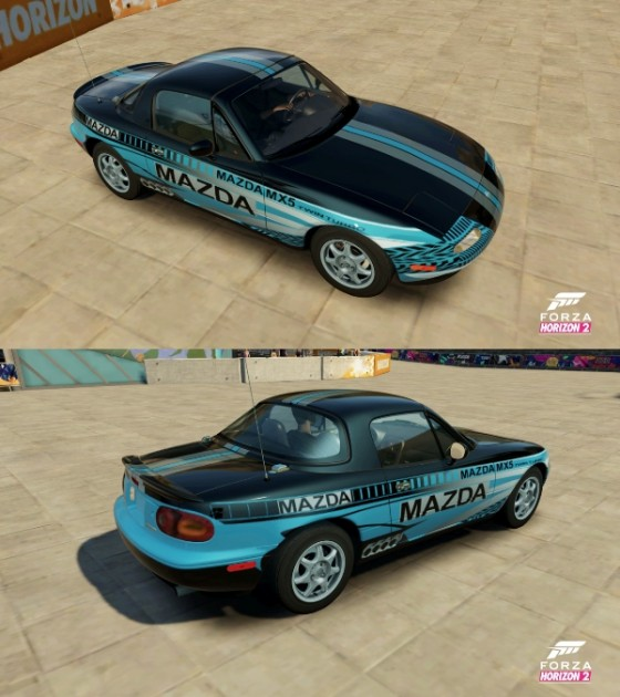 Mazda Livery Design Contest Winner Vehicle Design by Jeff Reachard