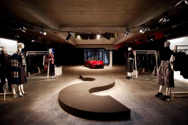 Mazda at Milan Design Week KODO fashion