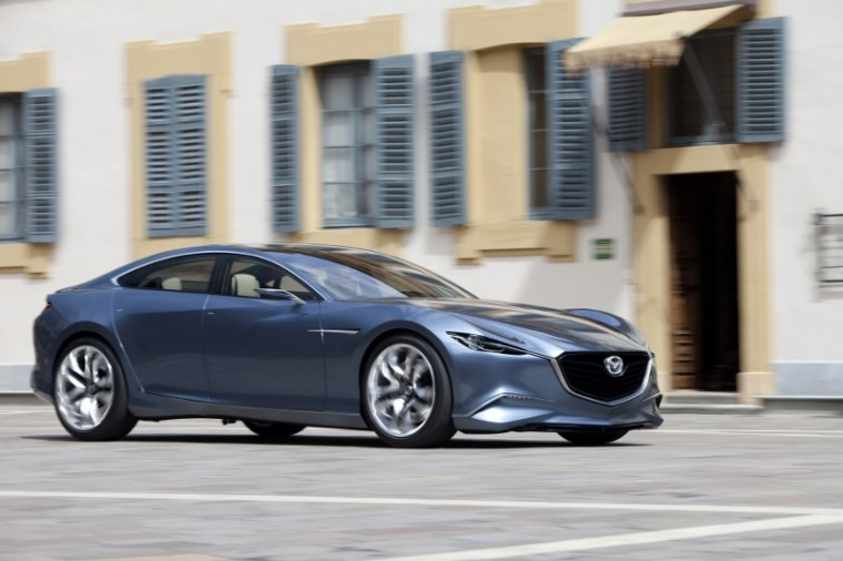 Mazda Shinari concept using KODO Soul of motion design external side