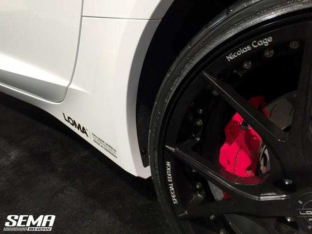 Nicolas Cage Corvette Wheel