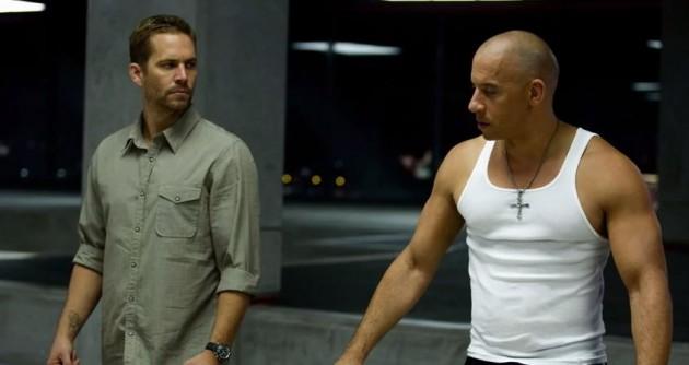 Vin Diesel (right) named his new baby daughter Pauline after his departed best friend, Paul Walker (left)