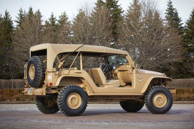 2015 Easter Jeep Safari Concepts | Jeep Staff Car