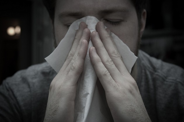 allergy-proof your car nose blowing sneeze tissue