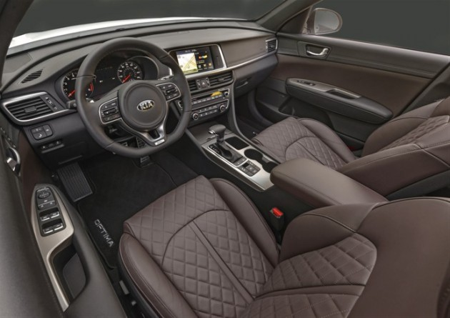 The SXL's aubergine interior... right? Isn't that aubergine? It's like an eggplant color, right?