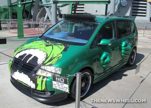 Hulk Mobile Vw Touran From Fast Furious Tokyo Drift At Universal
