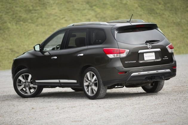 2015 Nissan Pathfinder exterior