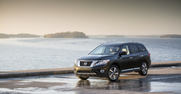 2015 Nissan Pathfinder safety