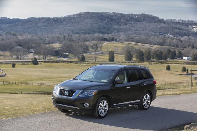 2015 Nissan Pathfinder efficiency