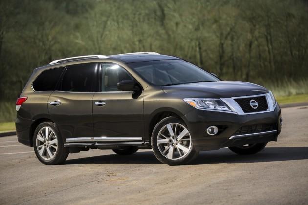 2015 Nissan Pathfinder performance