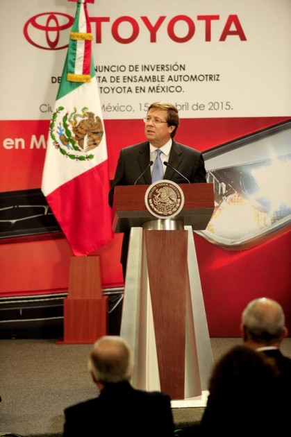 Toyota North America CEO James Lentz