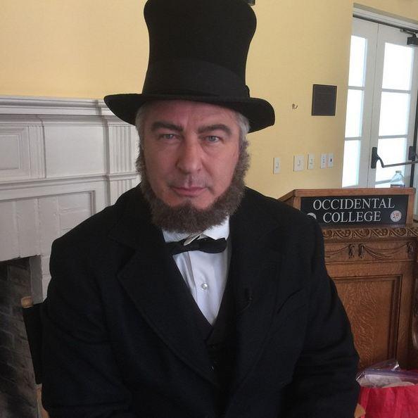 Alec Baldwin as Abe Lincoln