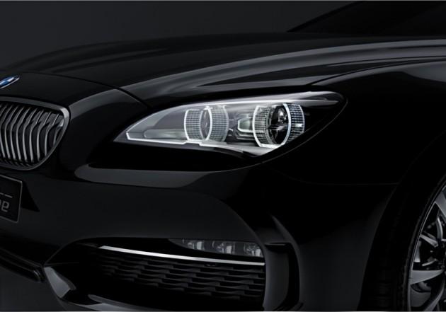 BMW Concept Gran Coupé, Head light (04/1010)