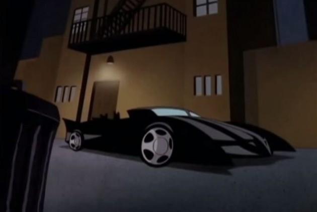 Cartoon Cars - Batmobile