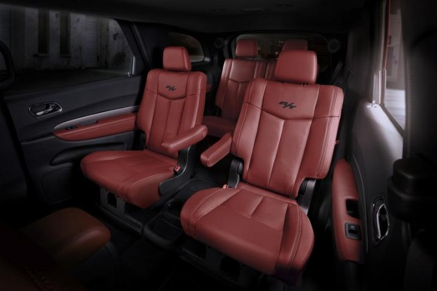 Marvelous Dodge Durango Radar Red Nappa Leather Seats Fulfill Frankydiablos Diy Chair Ideas Frankydiabloscom