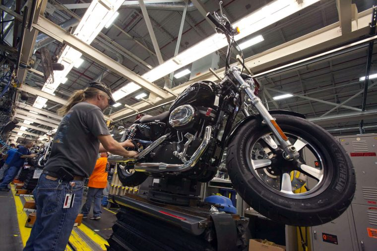 Harley Davidson powertrain assembly in Kansas City